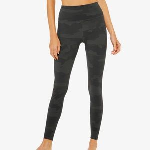 Alo camo leggings xs